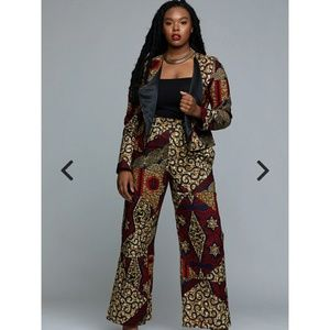 New Ankara Suit (Jacket and Pants)